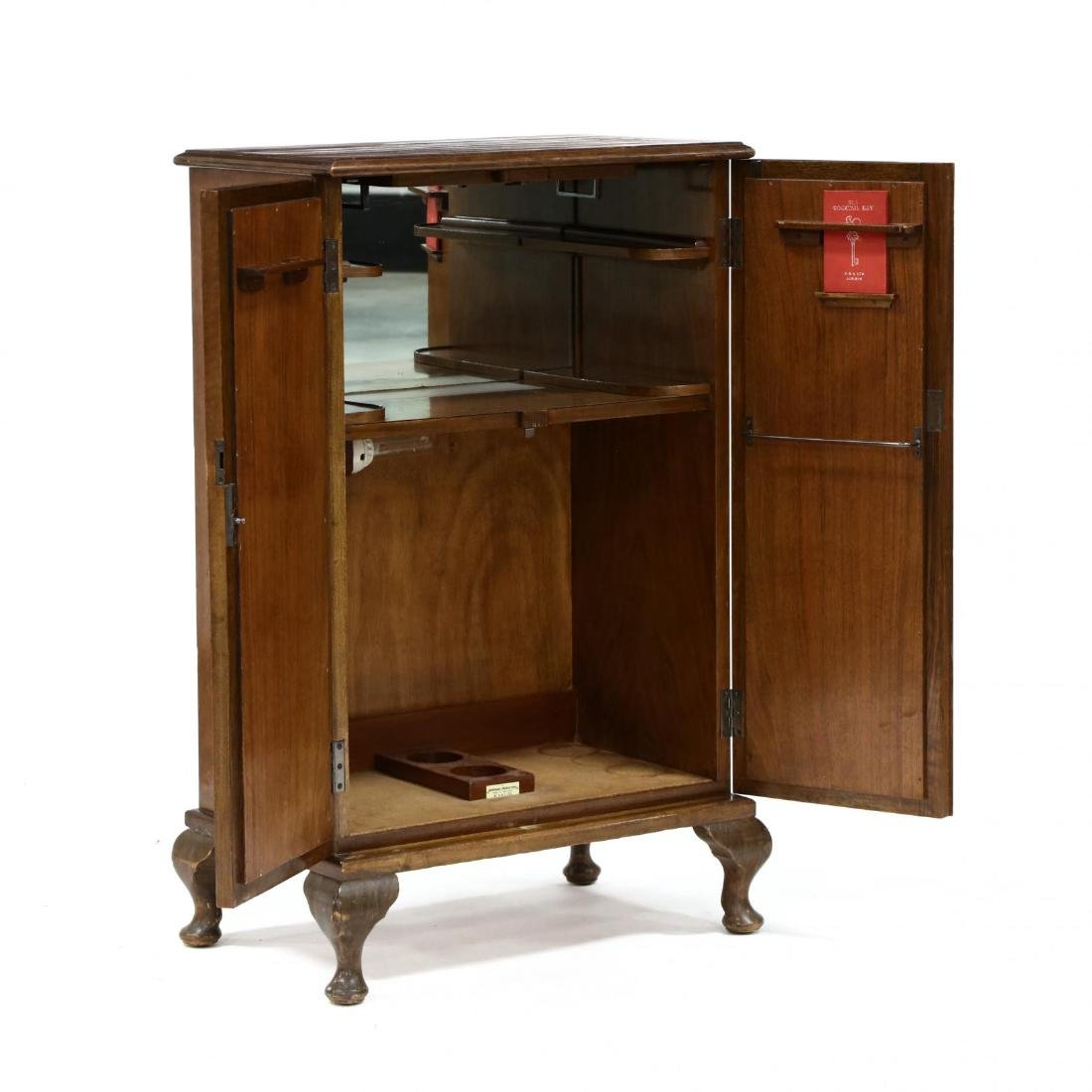 George Betjemann, English Faux Book Bar Cabinet - 2