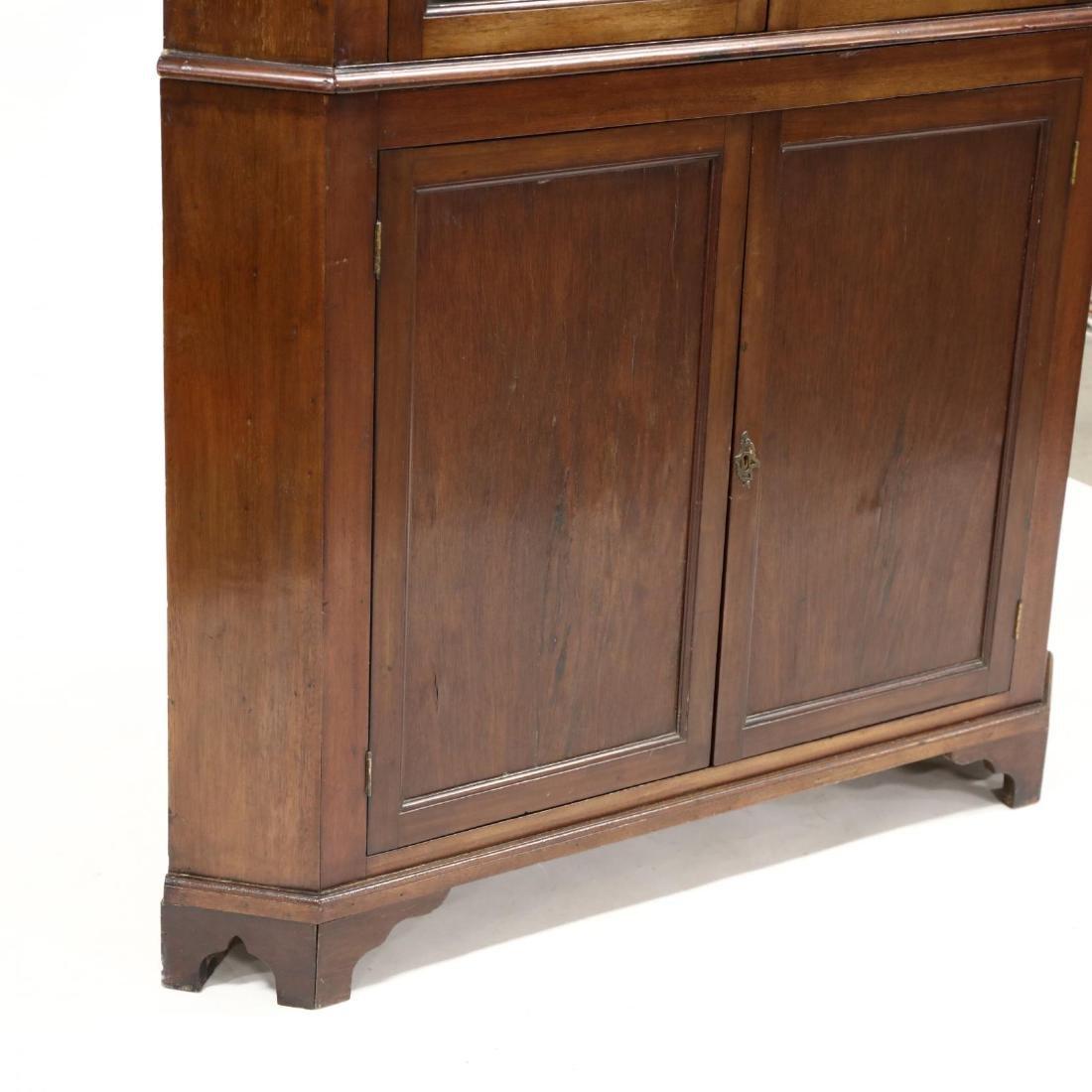 Edwardian Mahogany Corner Cupboard - 3