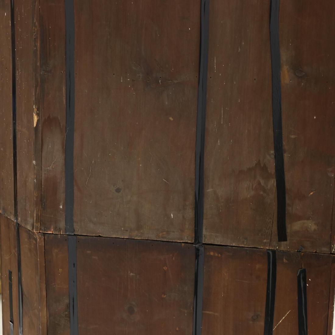 Edwardian Mahogany Corner Cupboard - 5