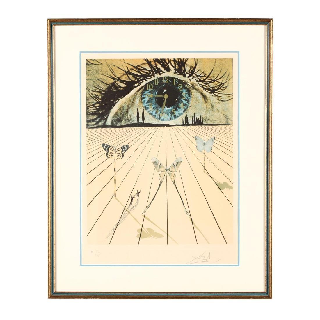 Salvador Dalí (Spanish, 1904-1989),  Eye of Surrealist