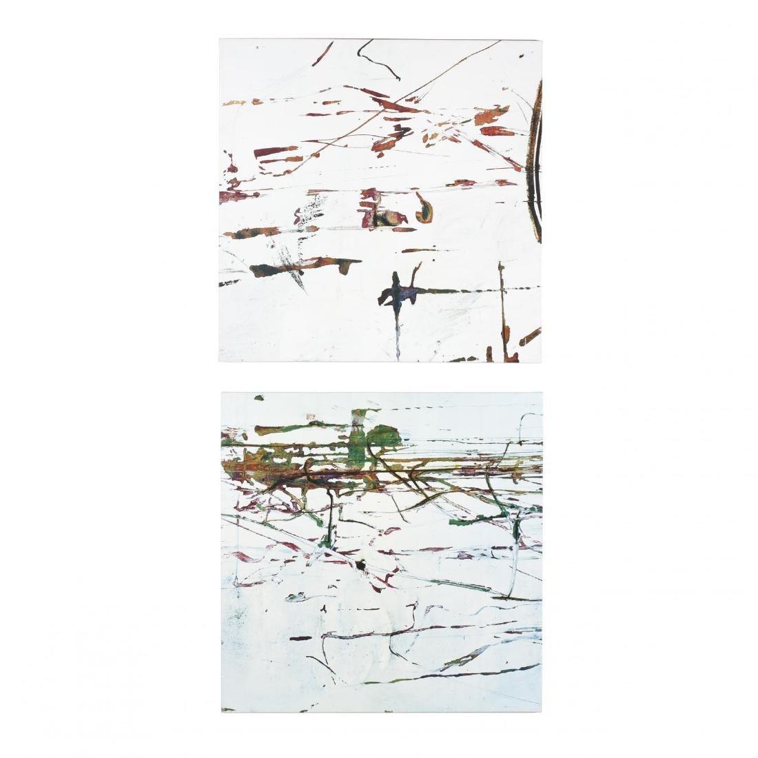 Baker,  Confetti Abstract II & III
