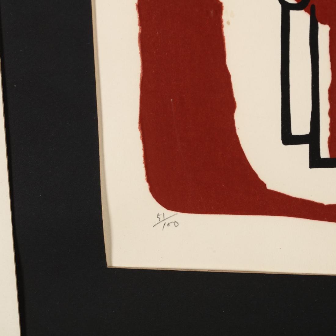 Modernist Print of a Horse - 3