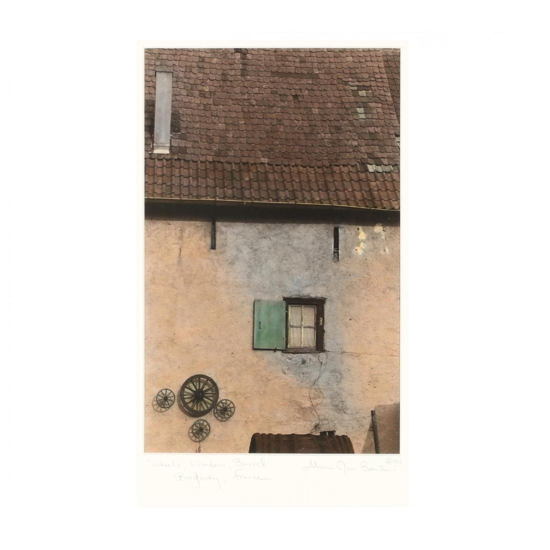 Marcie Jan Bronstein (ME),  'Wheels, Window, Barrel,'