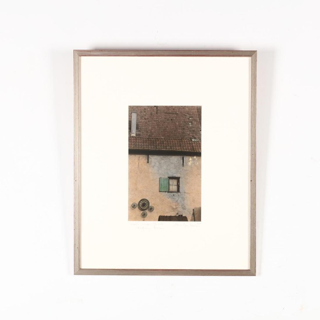 Marcie Jan Bronstein (ME),  'Wheels, Window, Barrel,' - 2