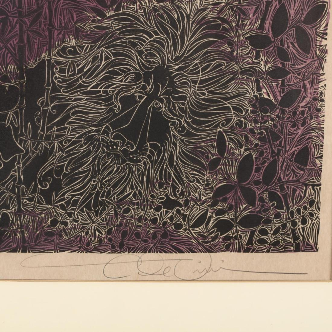 Two 20th Century Woodblock Prints - Elizabeth Wolf and - 3