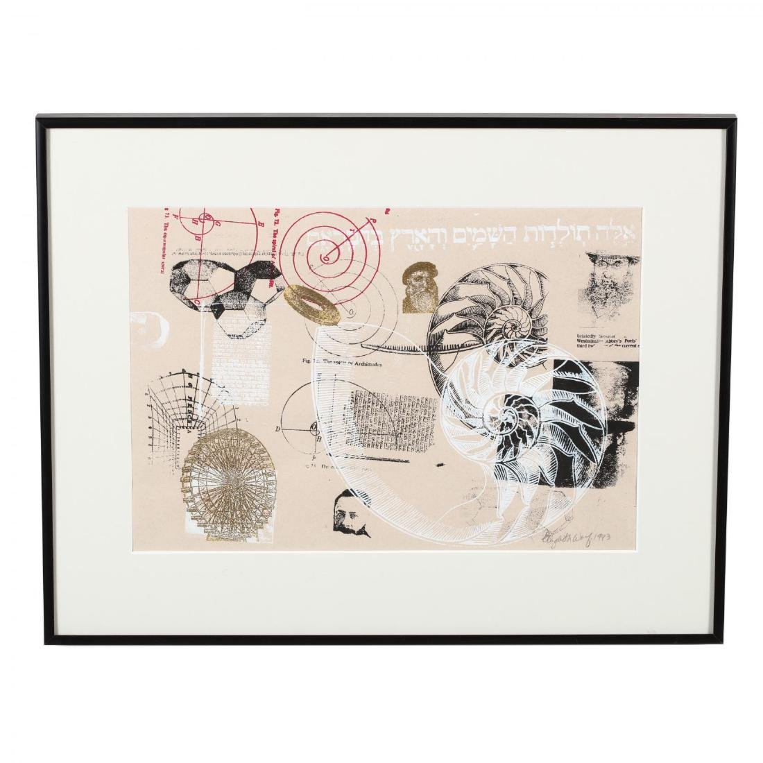 Two 20th Century Woodblock Prints - Elizabeth Wolf and - 5
