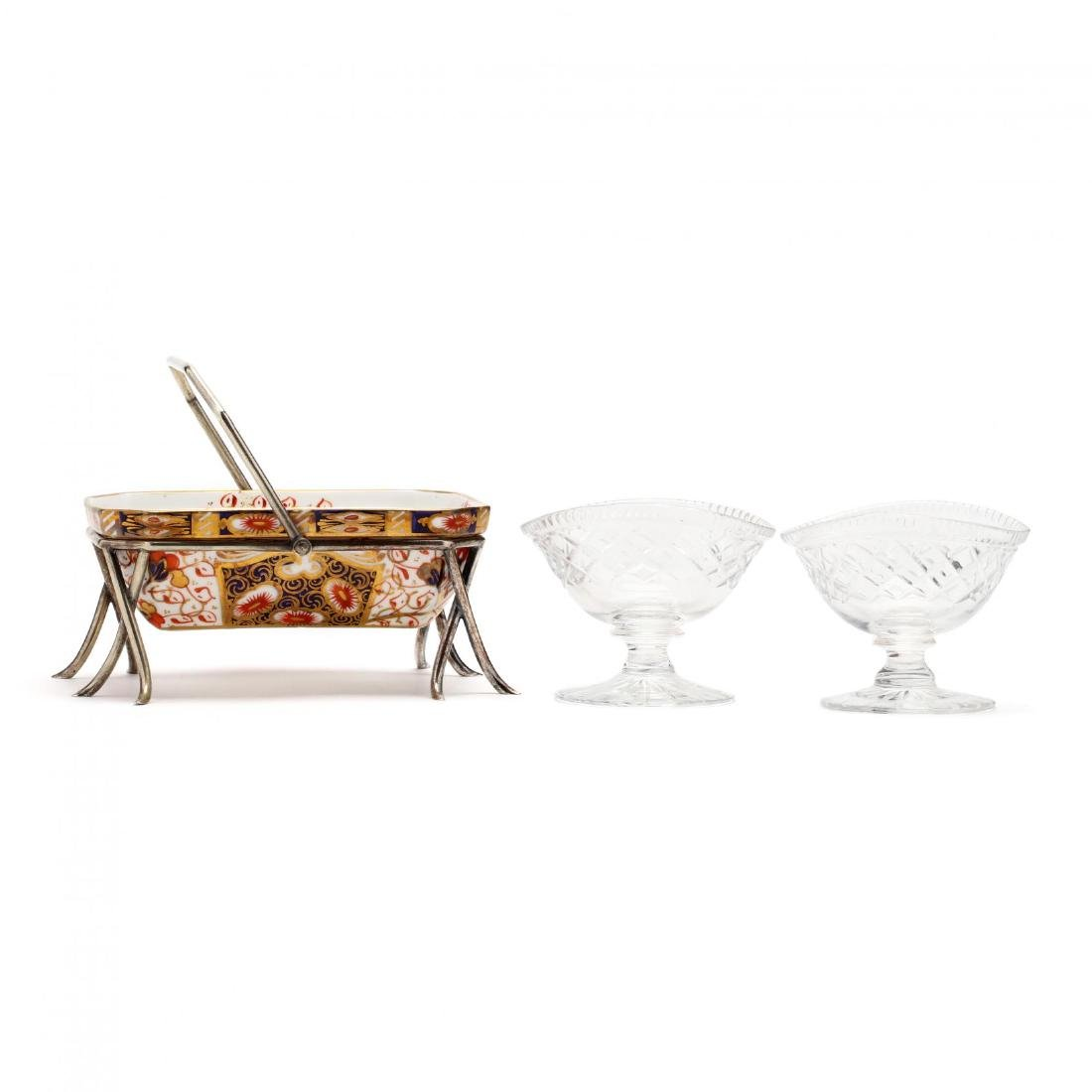 Three Antique English Table Accessories