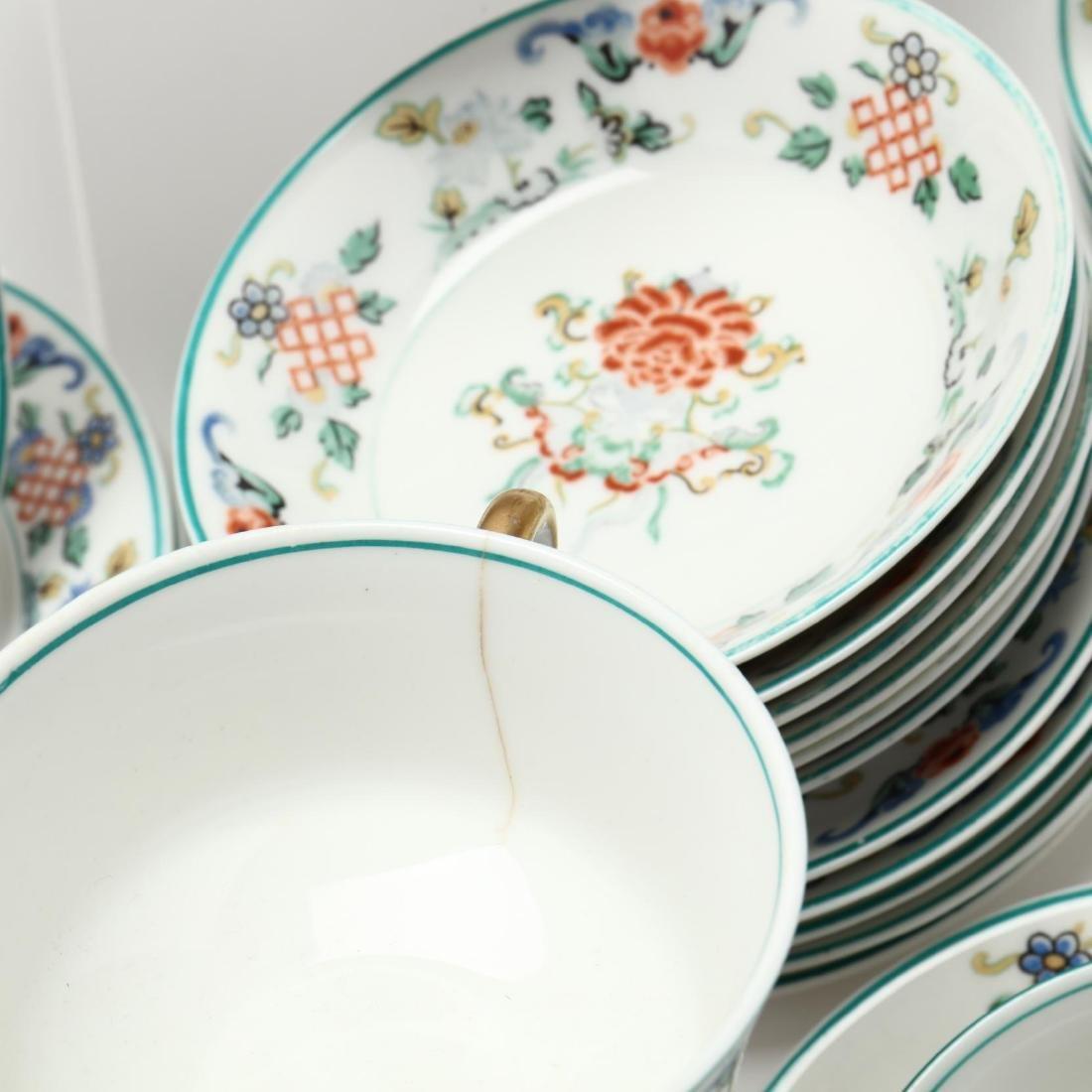 43 Piece Set of Syracuse  Fusan  Pattern China - 5