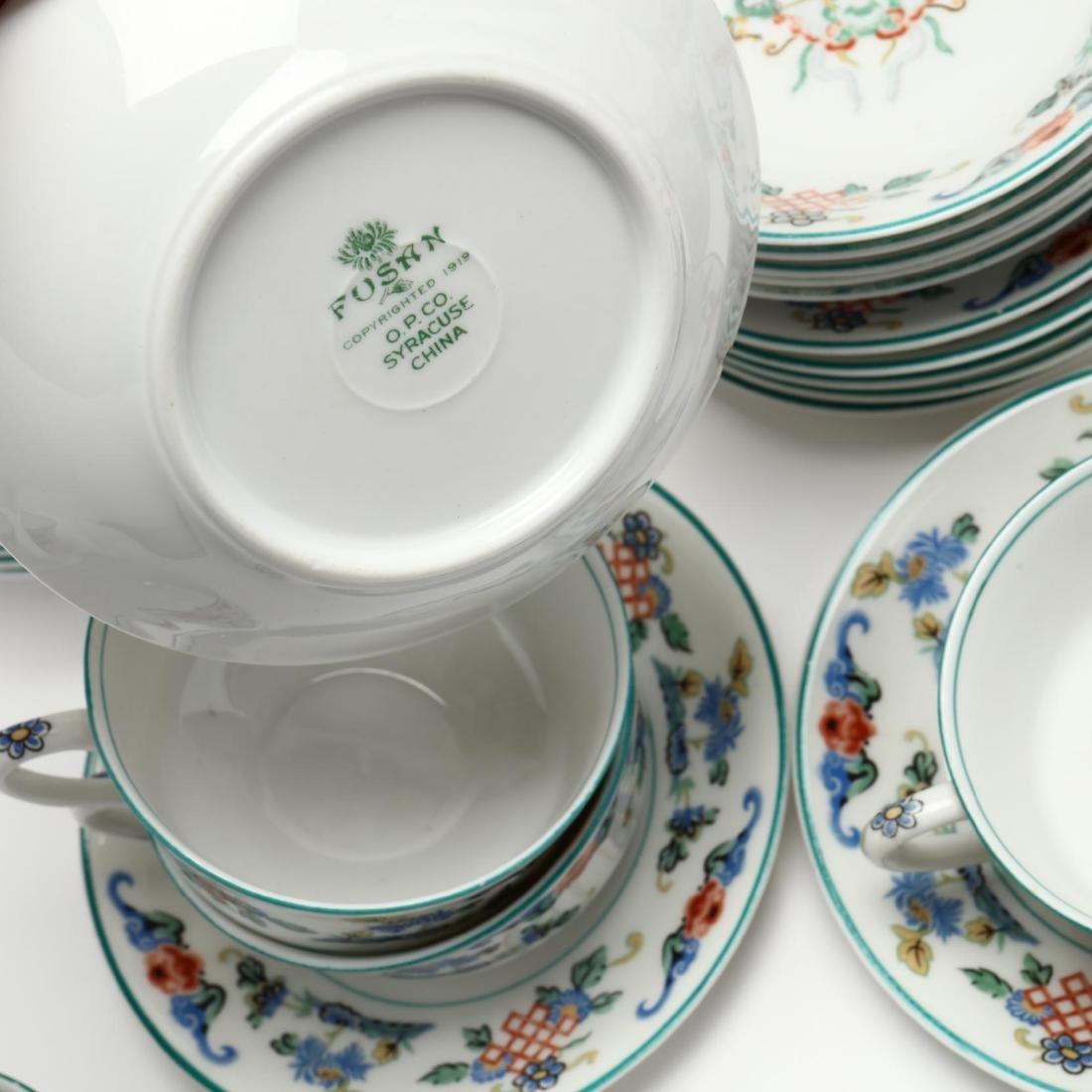 43 Piece Set of Syracuse  Fusan  Pattern China - 6