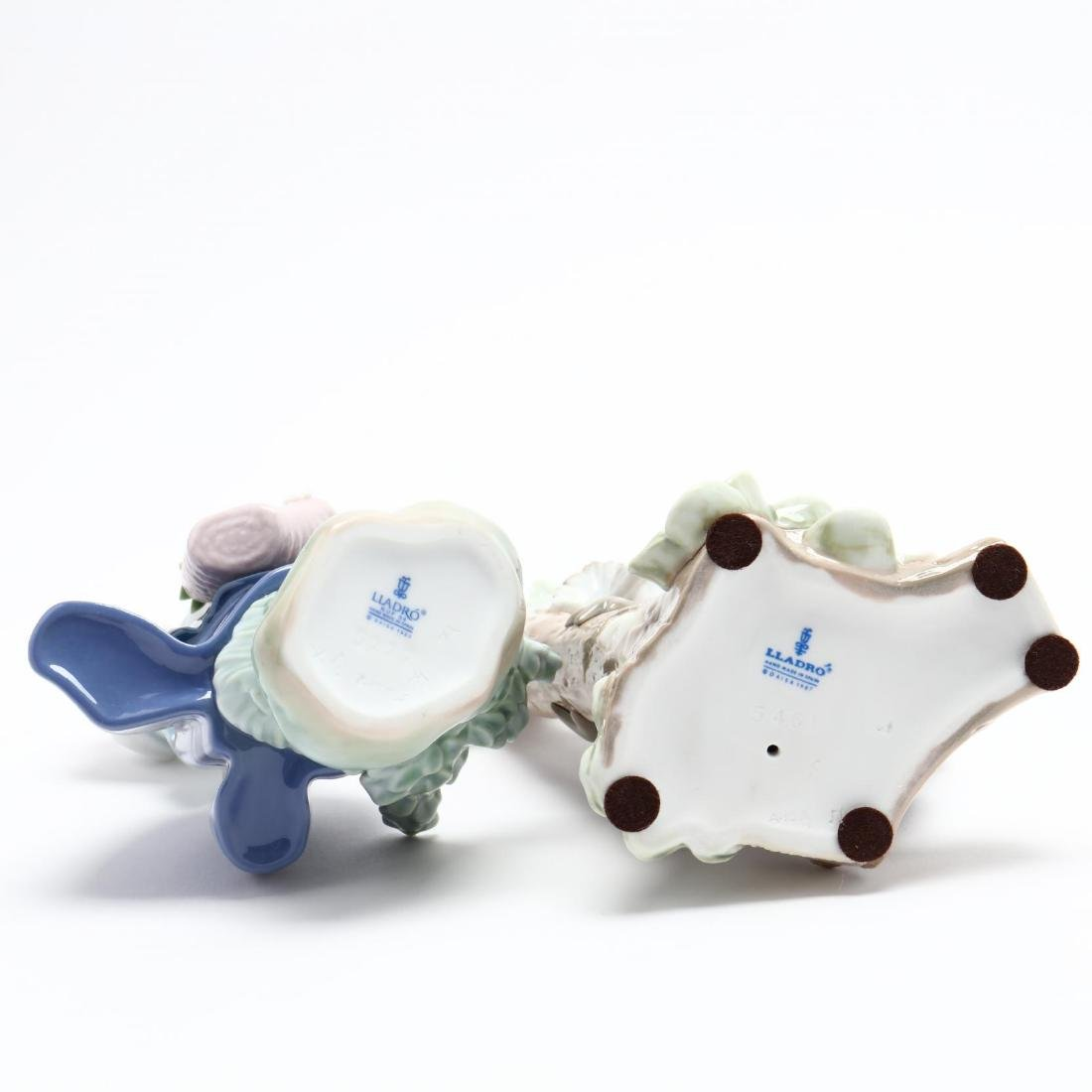 Five Porcelain Figures, Lladro and Royal Doulton - 4
