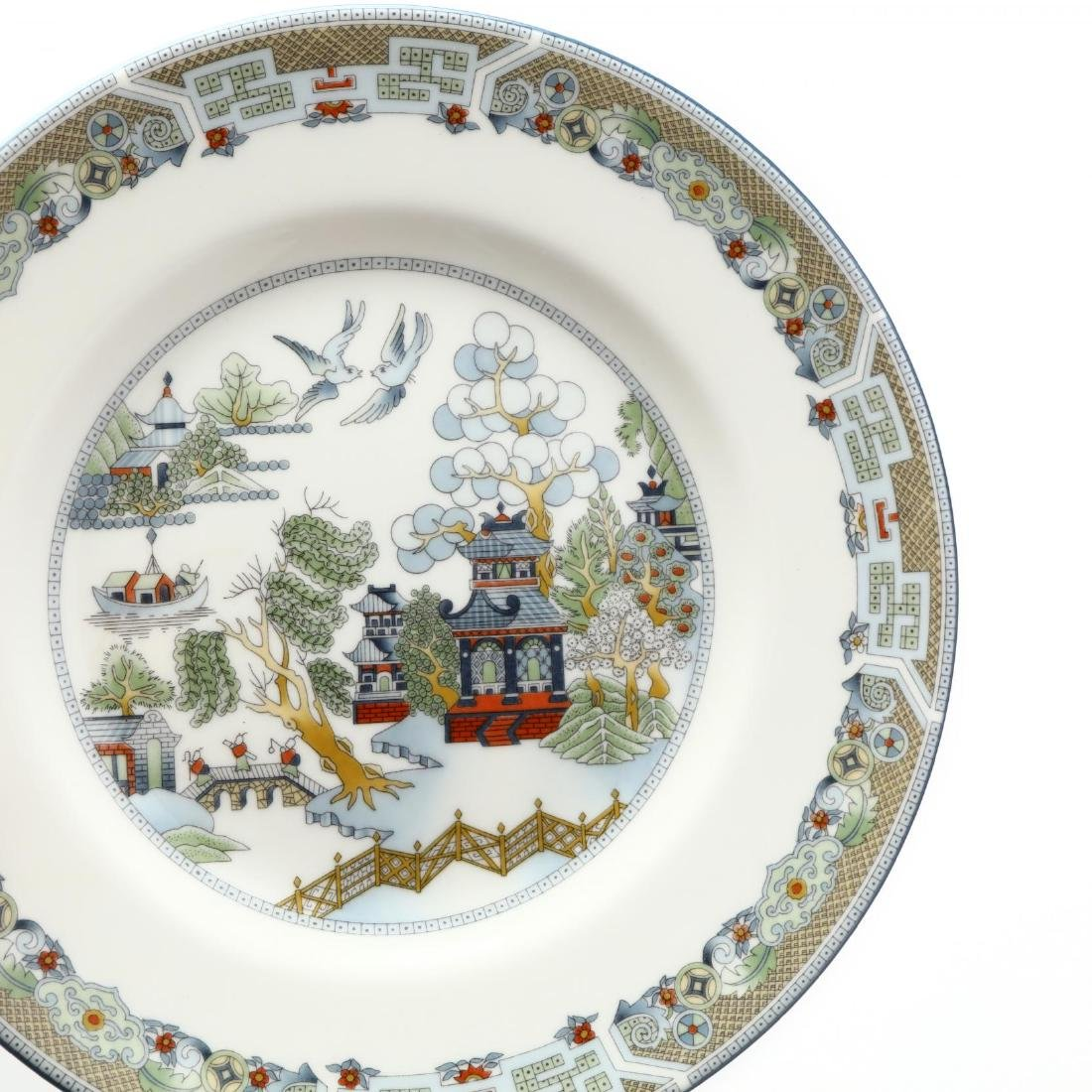 (60) Pieces of Wedgwood  Chinese Legend  DInnerware - 3