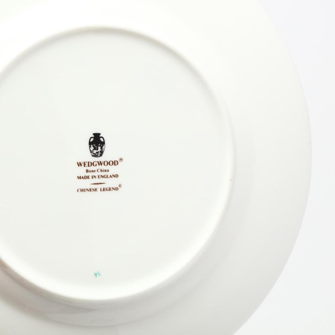 (60) Pieces of Wedgwood  Chinese Legend  DInnerware - 4