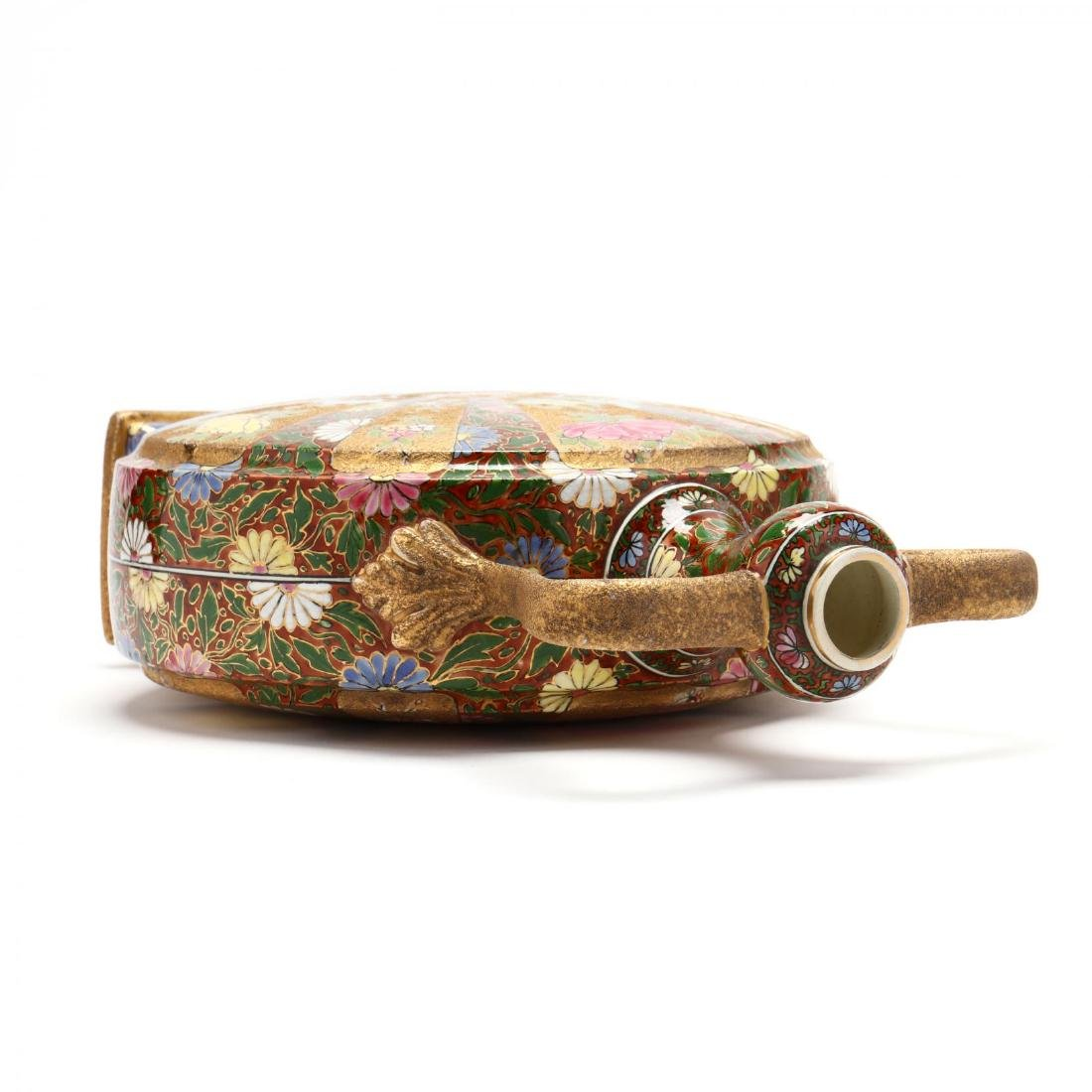 20th Century Gilt Decorated Moon Flask - 4