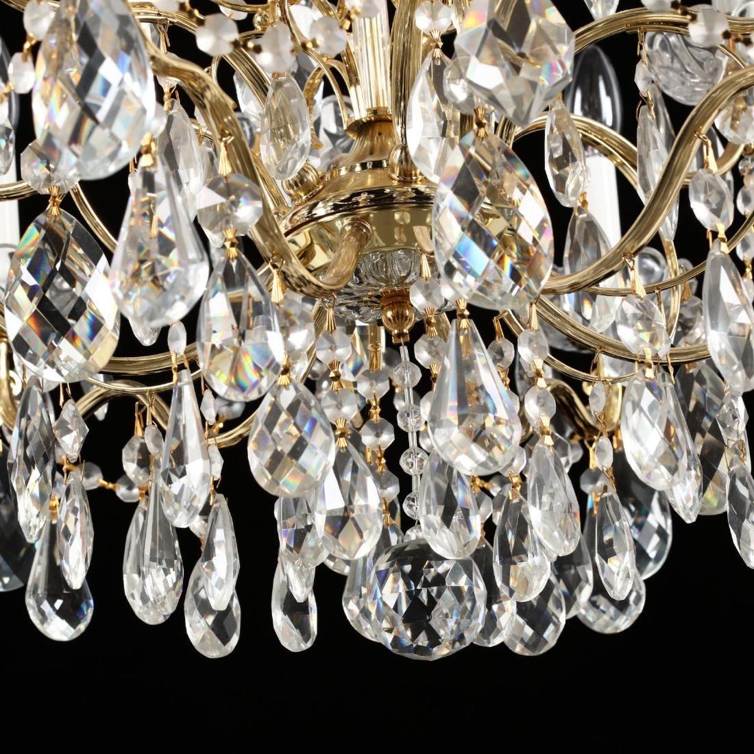 Schonbek, Crystal Drop Prism Chandelier - 4