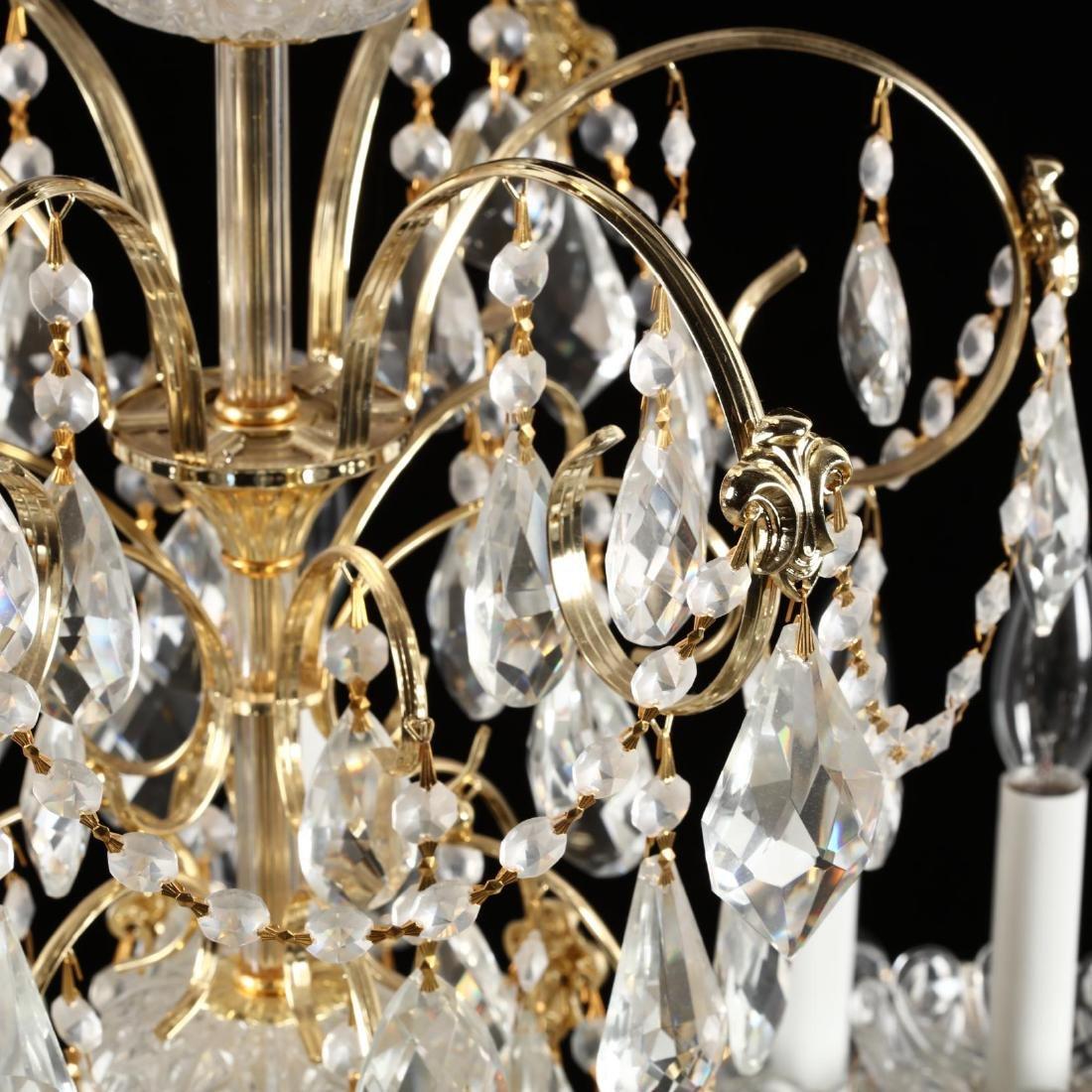 Schonbek, Crystal Drop Prism Chandelier - 6