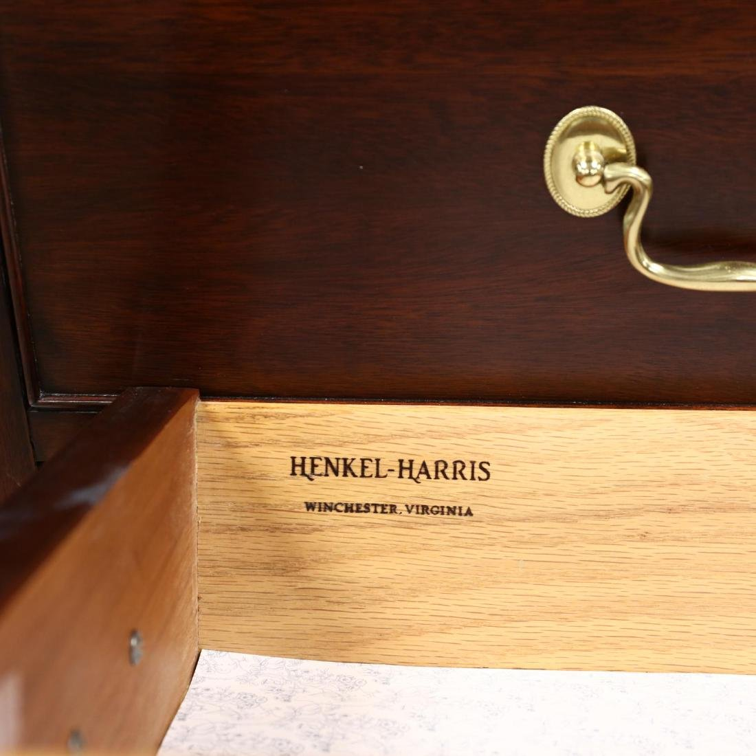 Henkel Harris, Chippendale Style Mahogany Tall Chest of - 5