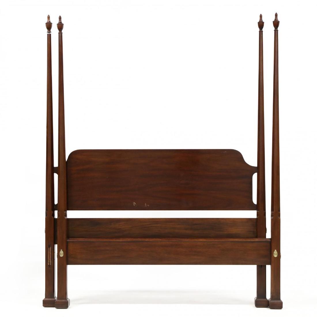 Henkel Harris, Queen Size Mahogany Tall Post Bed