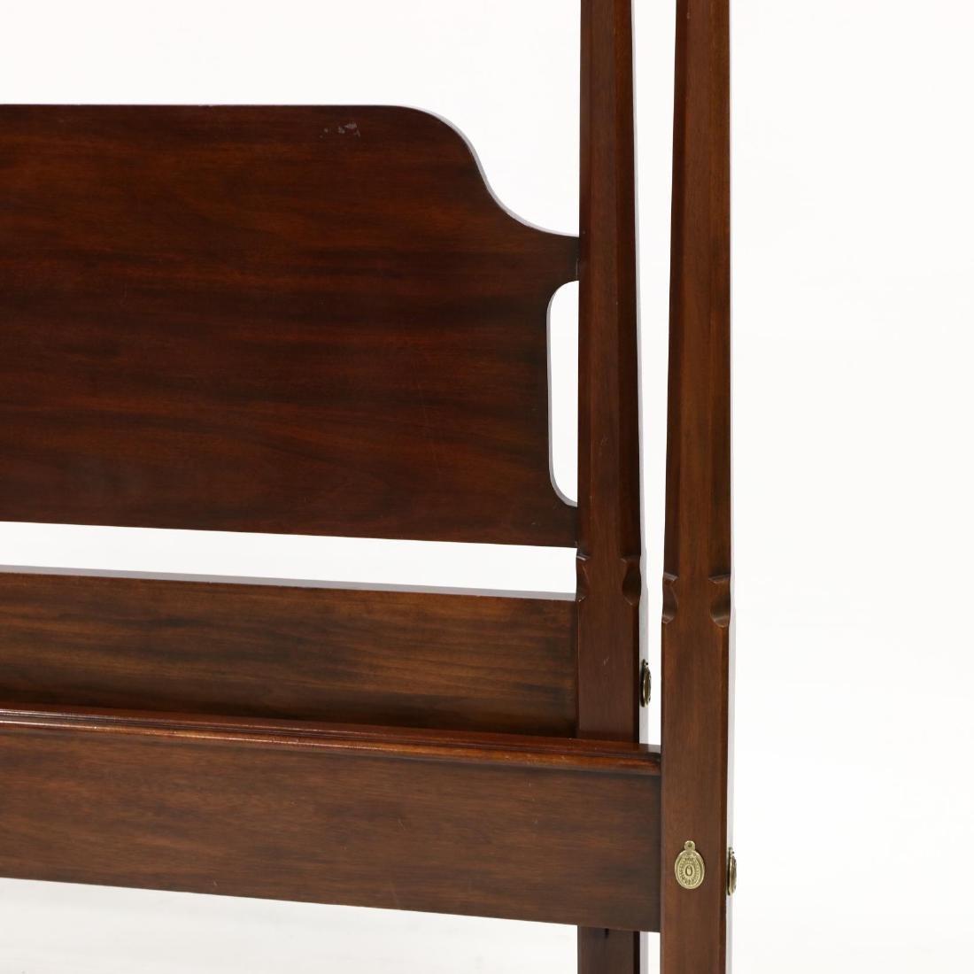 Henkel Harris, Queen Size Mahogany Tall Post Bed - 2