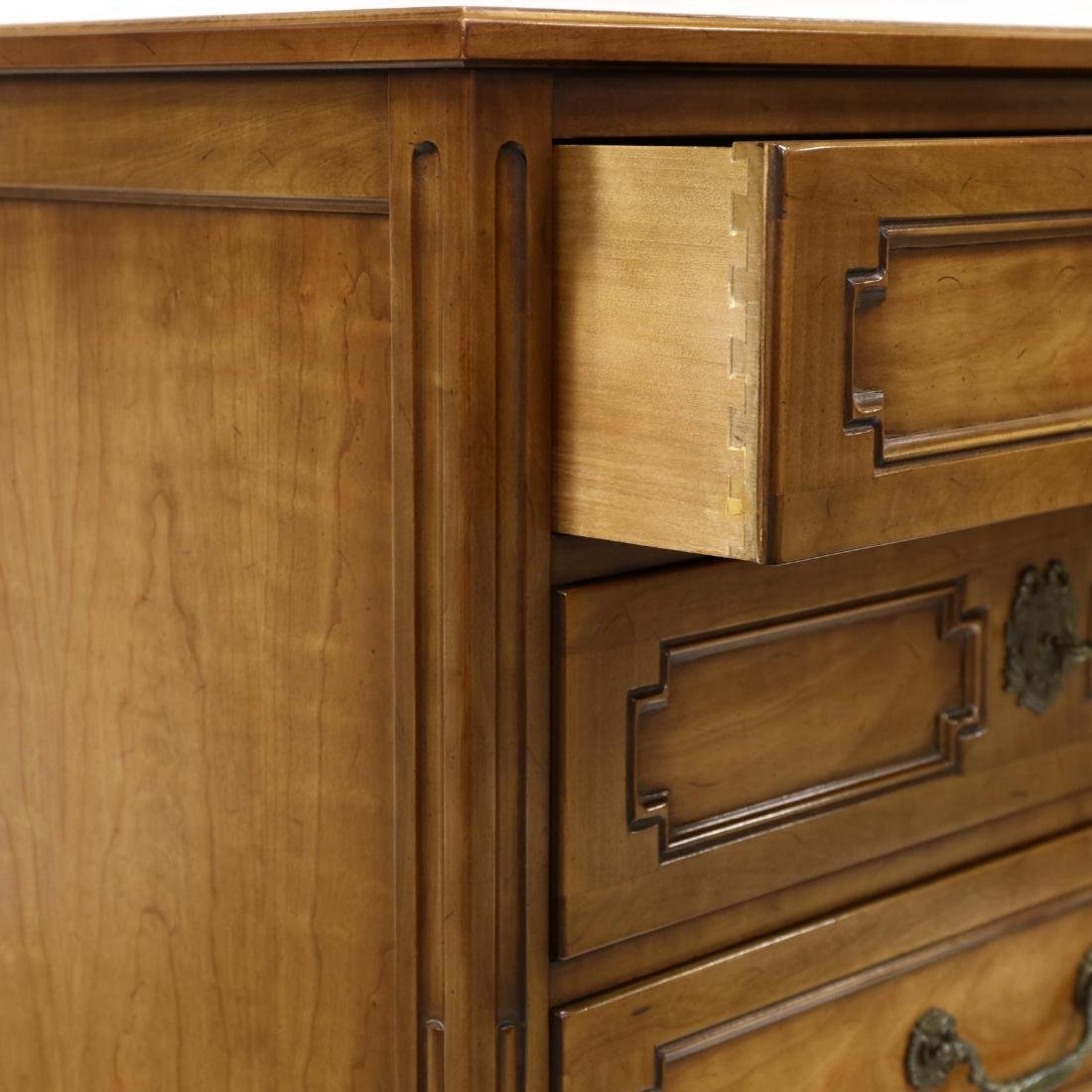 Henredon, French Provincial Style Cherry Lingerie Chest - 2