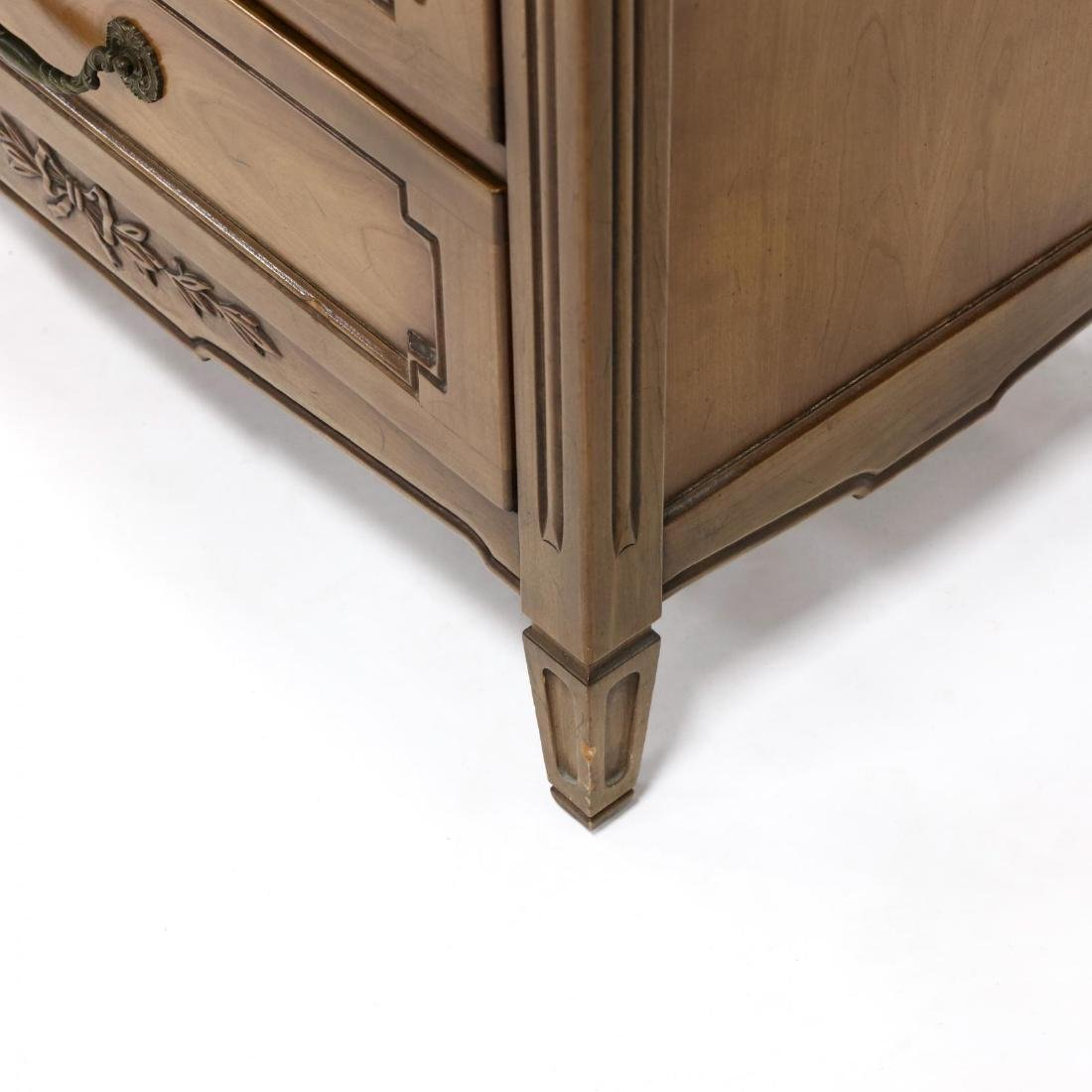 Henredon, French Provincial Style Cherry Lingerie Chest - 5