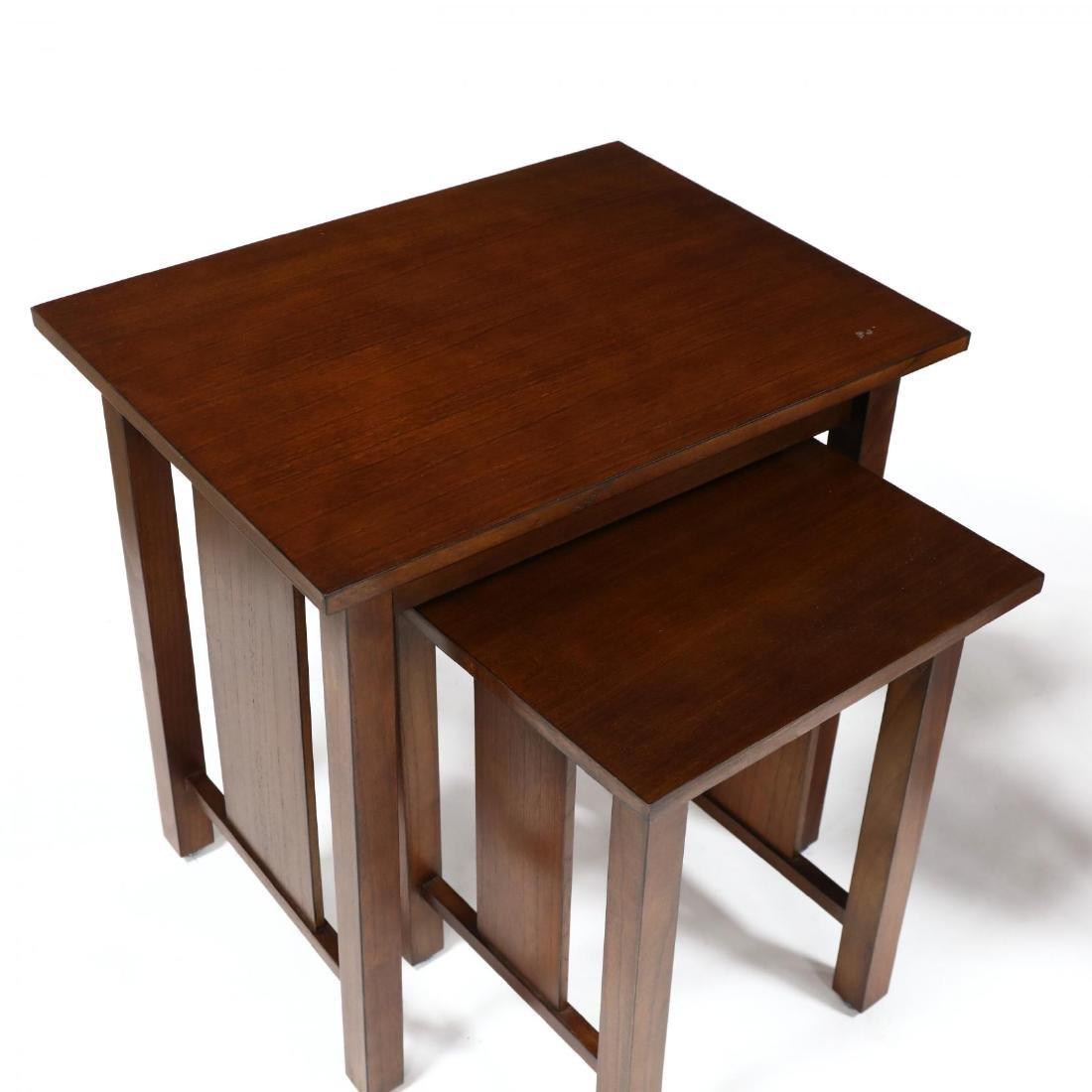 Baker, Pair of Mahogany Nesting Tables - 2