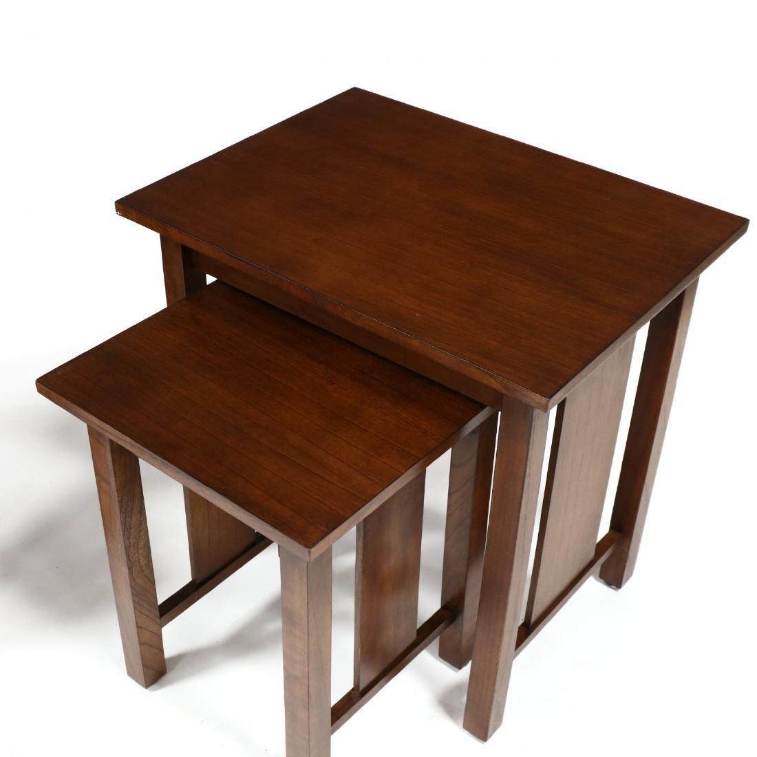 Baker, Pair of Mahogany Nesting Tables - 3