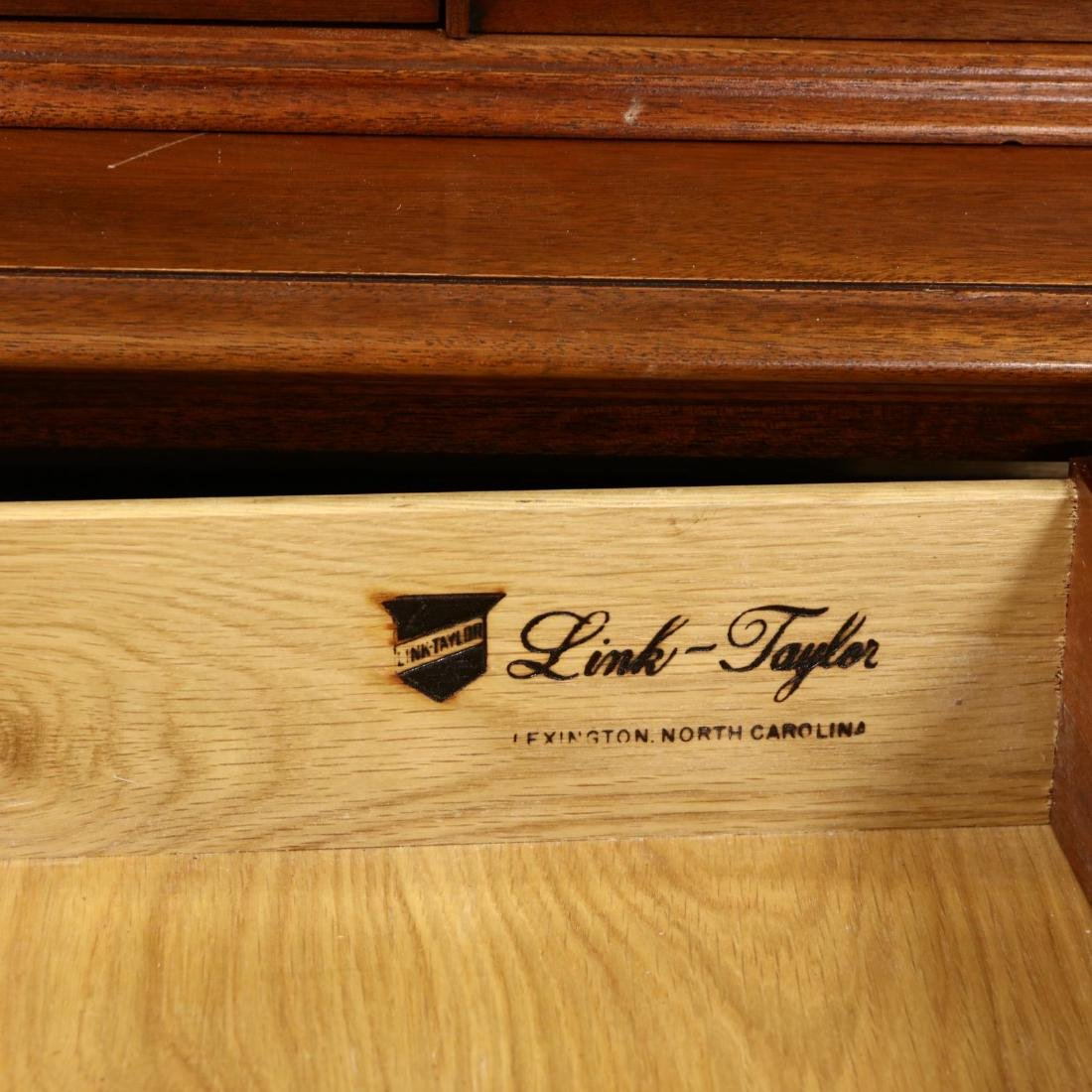 Link-Taylor, Chippendale Style Mahogany Breakfront - 3