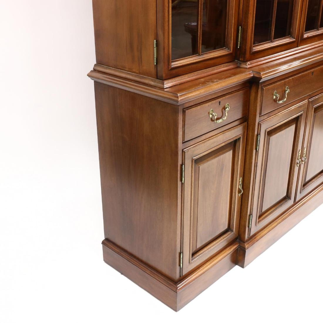 Link-Taylor, Chippendale Style Mahogany Breakfront - 4