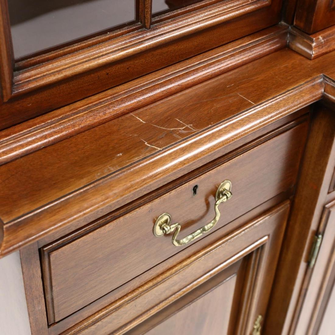 Link-Taylor, Chippendale Style Mahogany Breakfront - 5