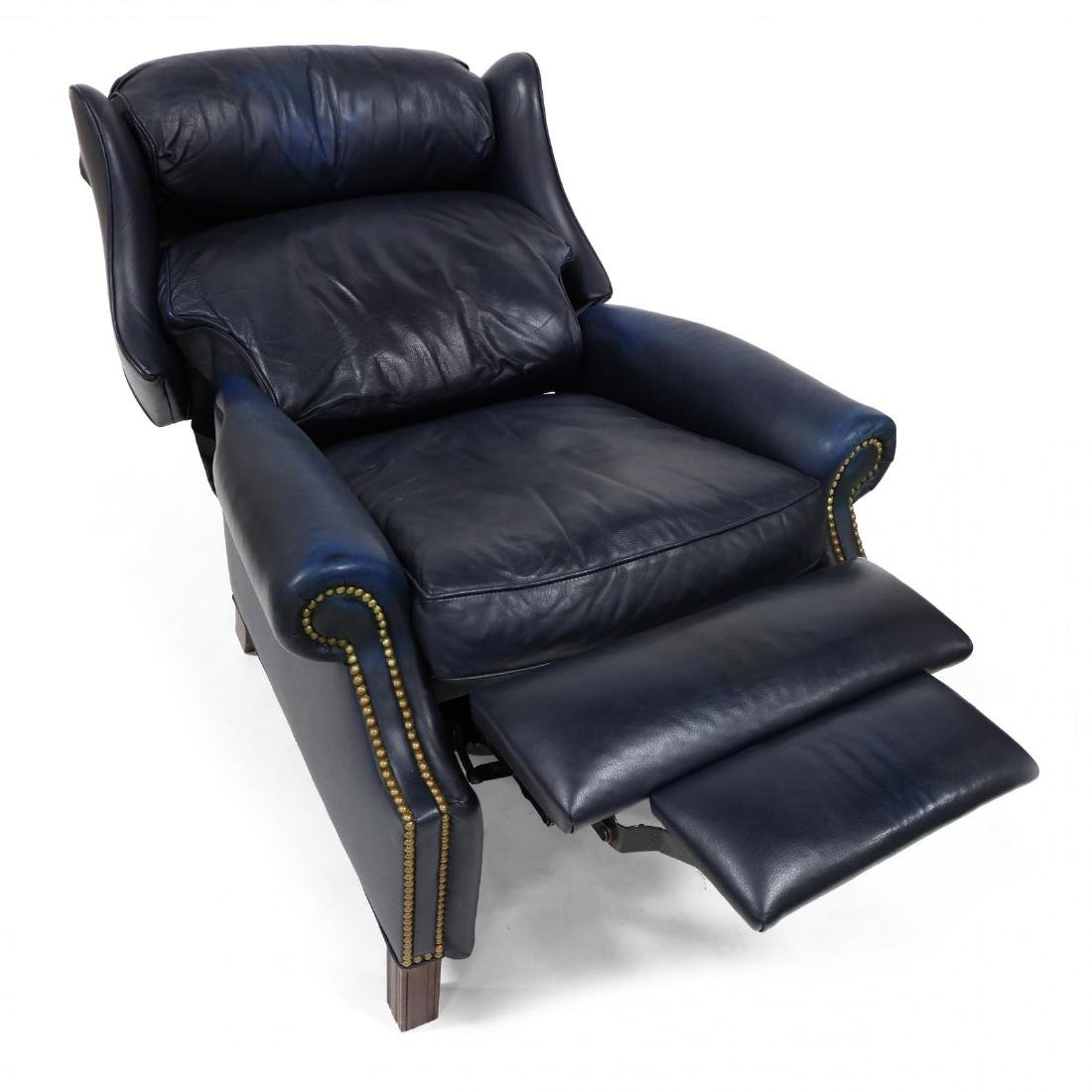 Hancock & Moore, Leather Upholstered Recliner - 3