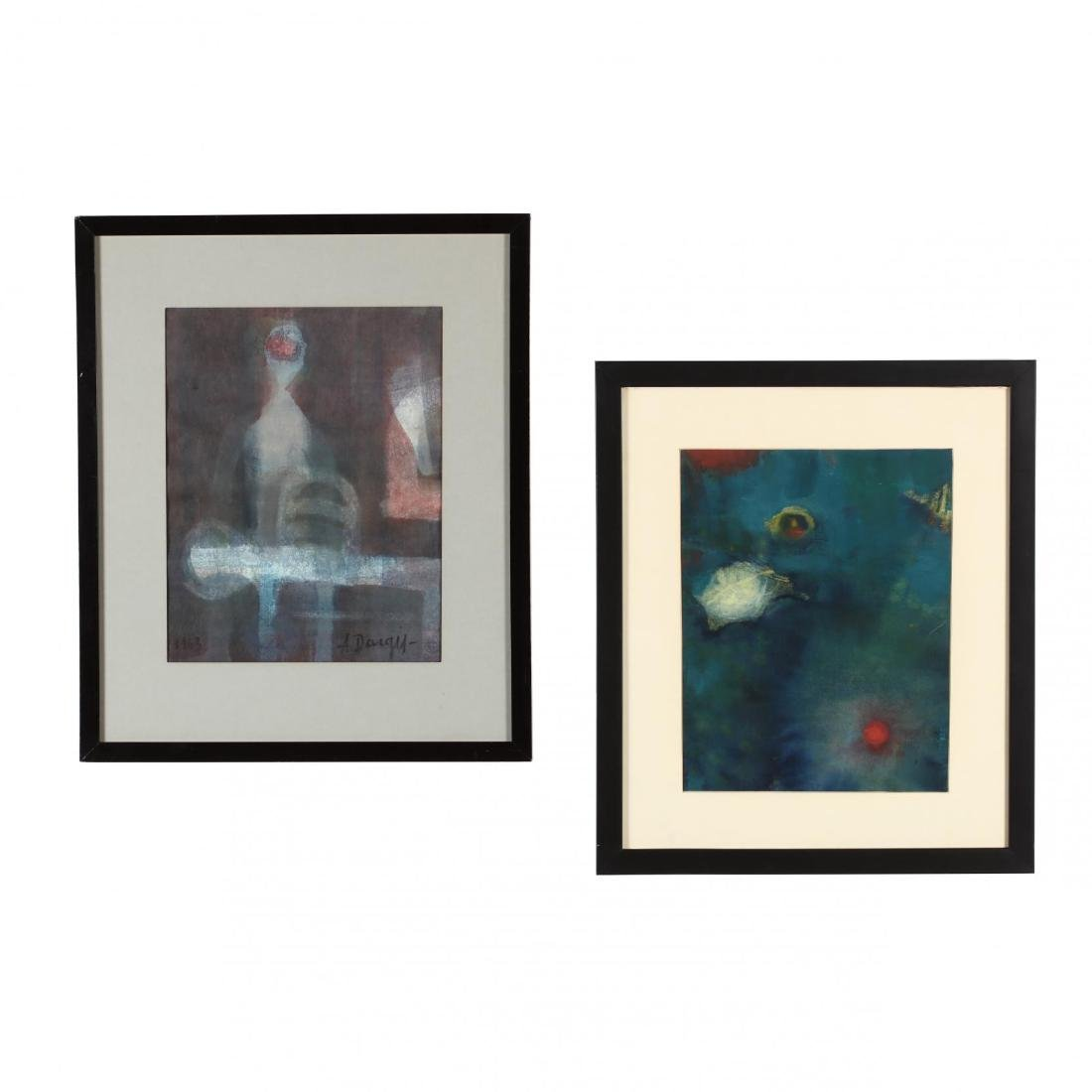 Alfonsas Dargis (1909-1996), Two Original Works