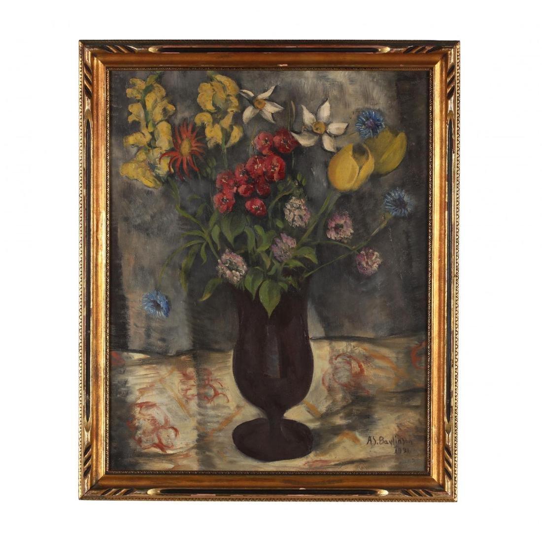 Abraham Soloman Baylinson (1882-1950), Floral Still