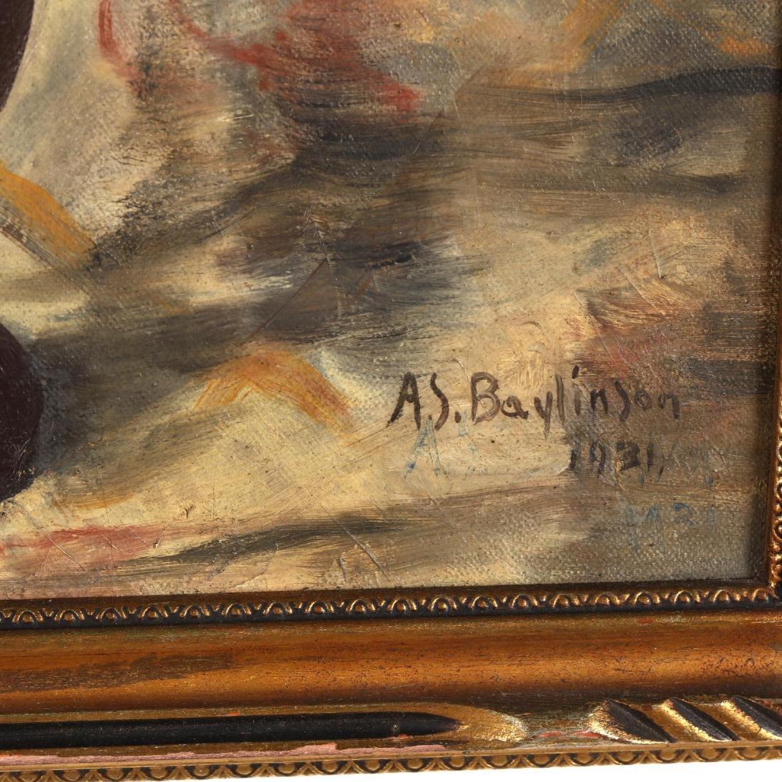 Abraham Soloman Baylinson (1882-1950), Floral Still - 2
