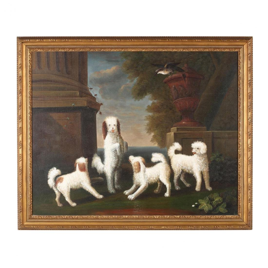 after John Wootton (Britain, 1682-1764),  Dancing Dogs