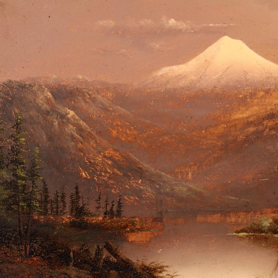 Eliza Barchus (1857-1959), Mt. Hood at Sunrise - 2