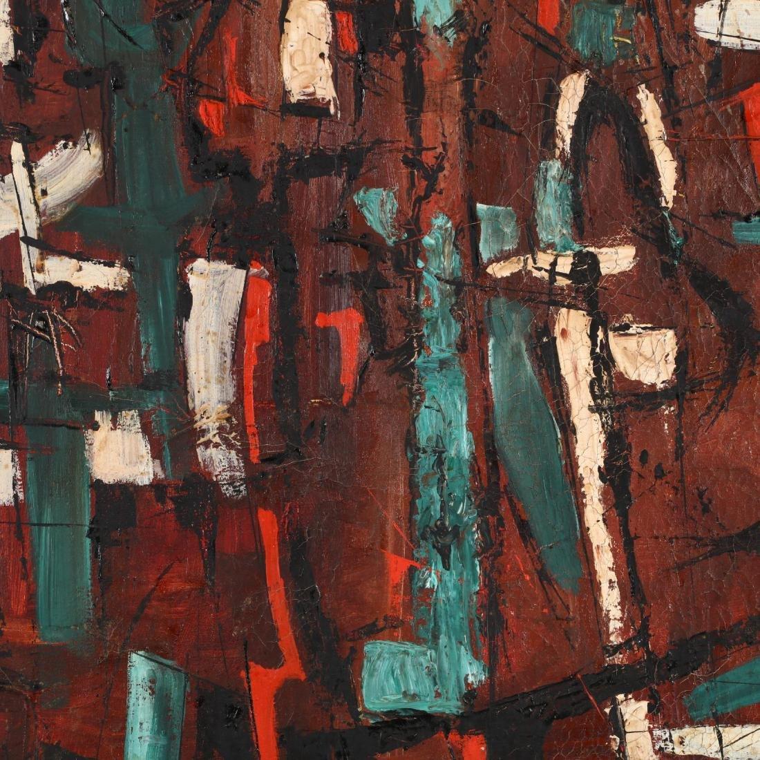 An Abstract Modern Painting, att. Tom Barnett - 2