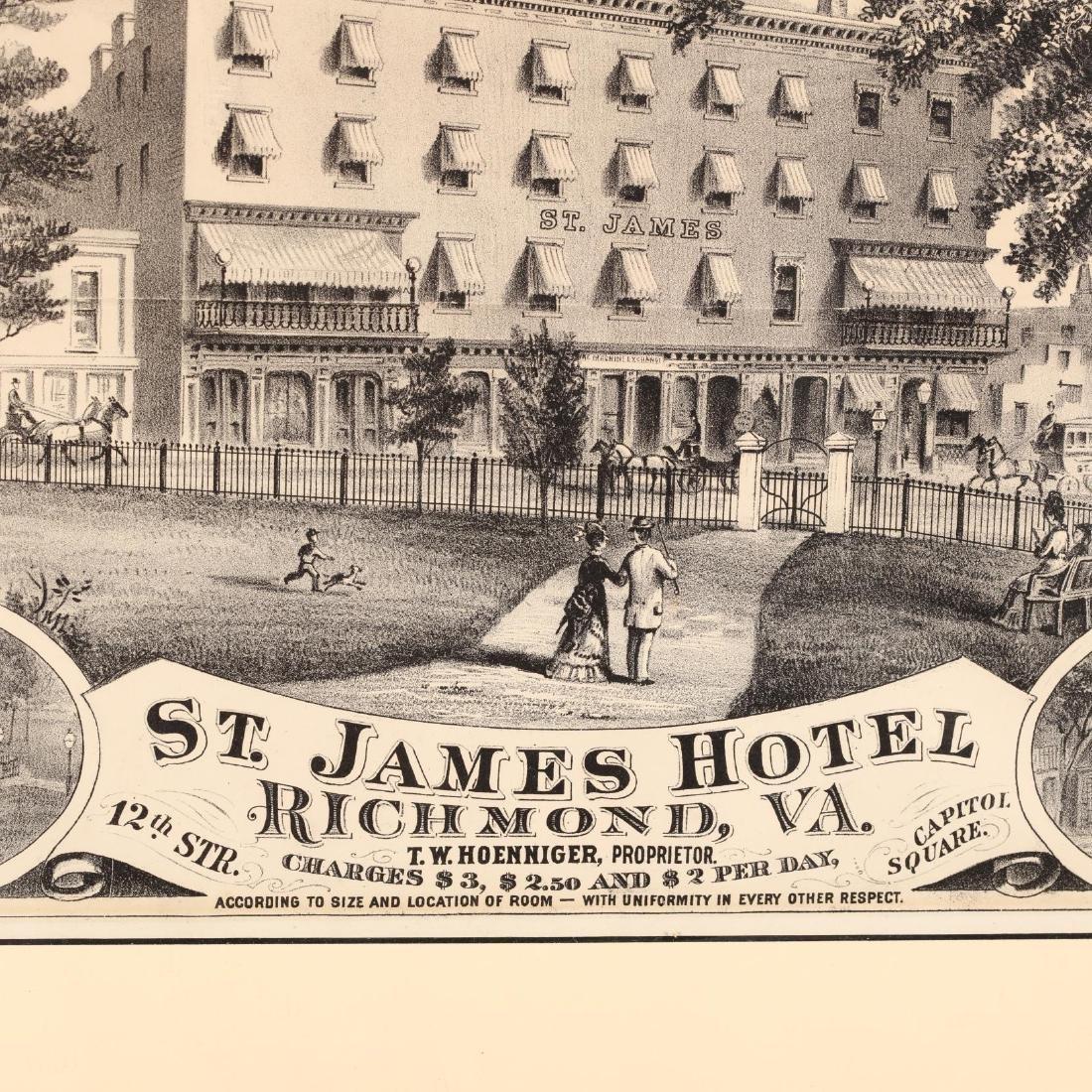 Two Antique Richmond, Virginia Hotel Advertisements - 3