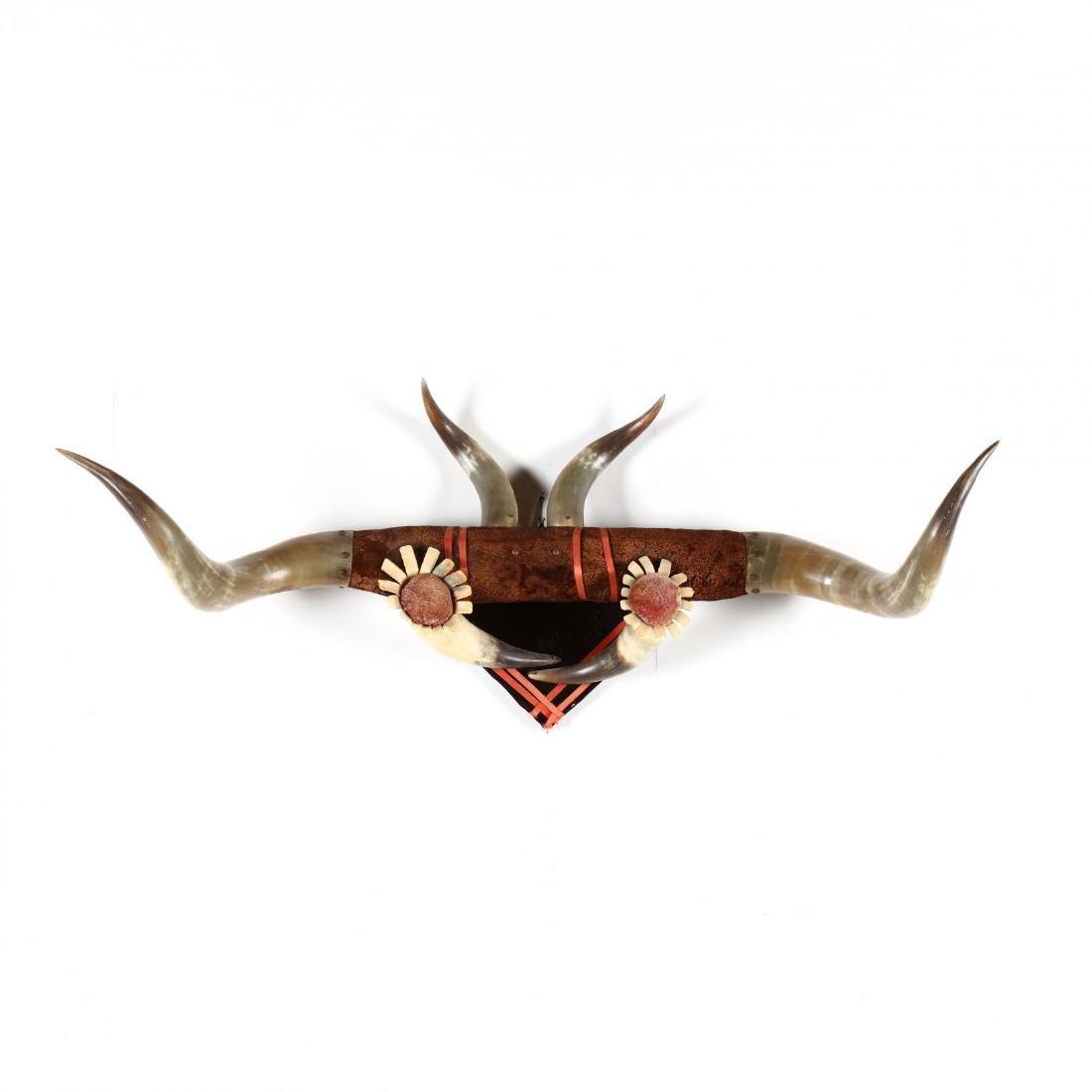 An Antique Horn Arrangement, att. Texas