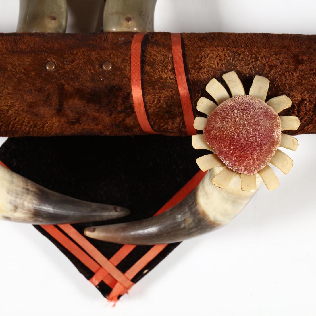 An Antique Horn Arrangement, att. Texas - 3