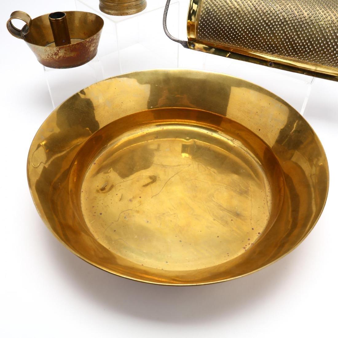 Four Vintage Brass Accessories - 3