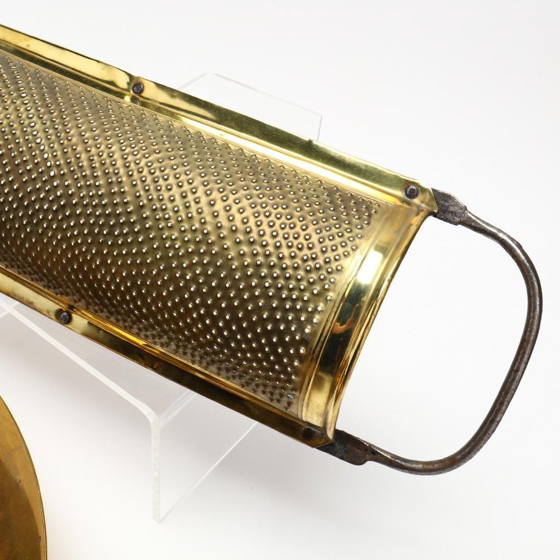 Four Vintage Brass Accessories - 4