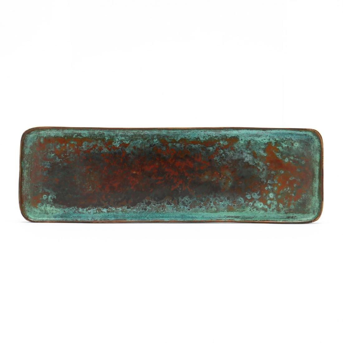 Tiffany Studios Bronze  Zodiac  Pen Tray - 3