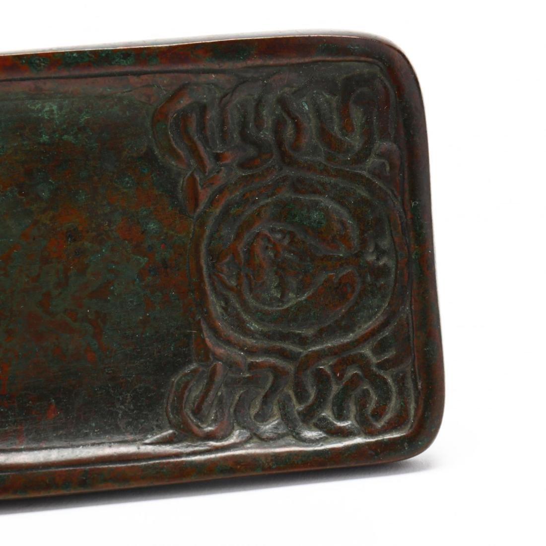 Tiffany Studios Bronze  Zodiac  Pen Tray - 4