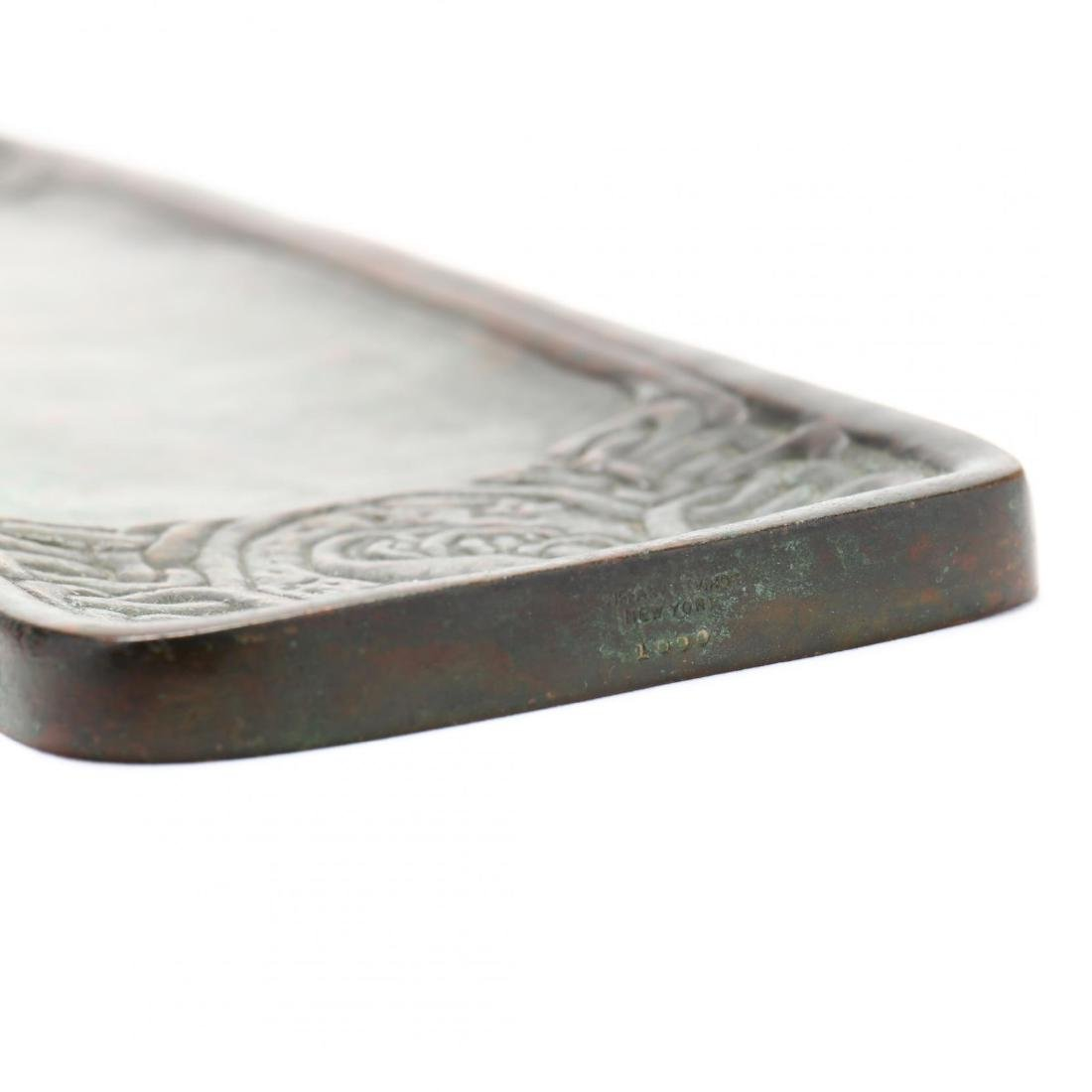 Tiffany Studios Bronze  Zodiac  Pen Tray - 5