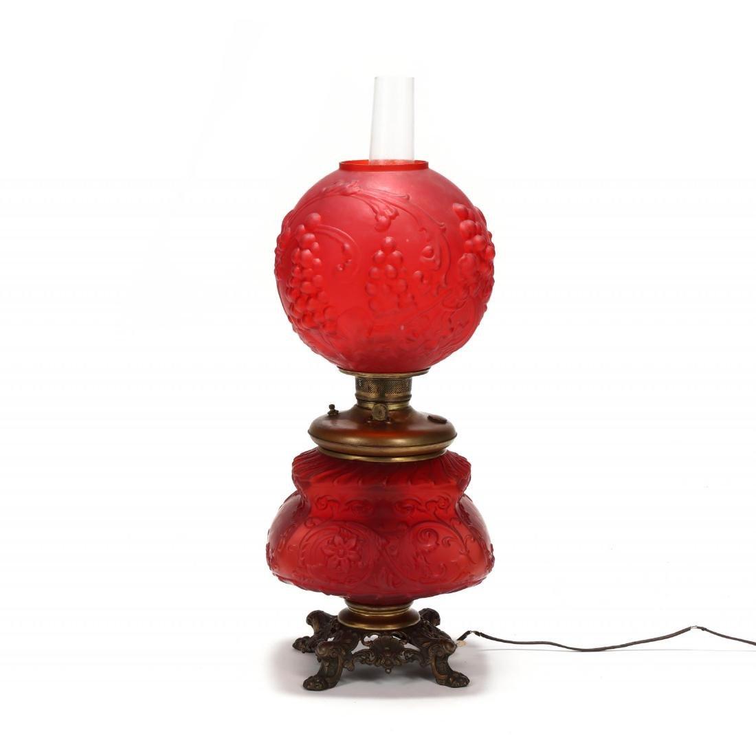 Antique American Oil Lamp