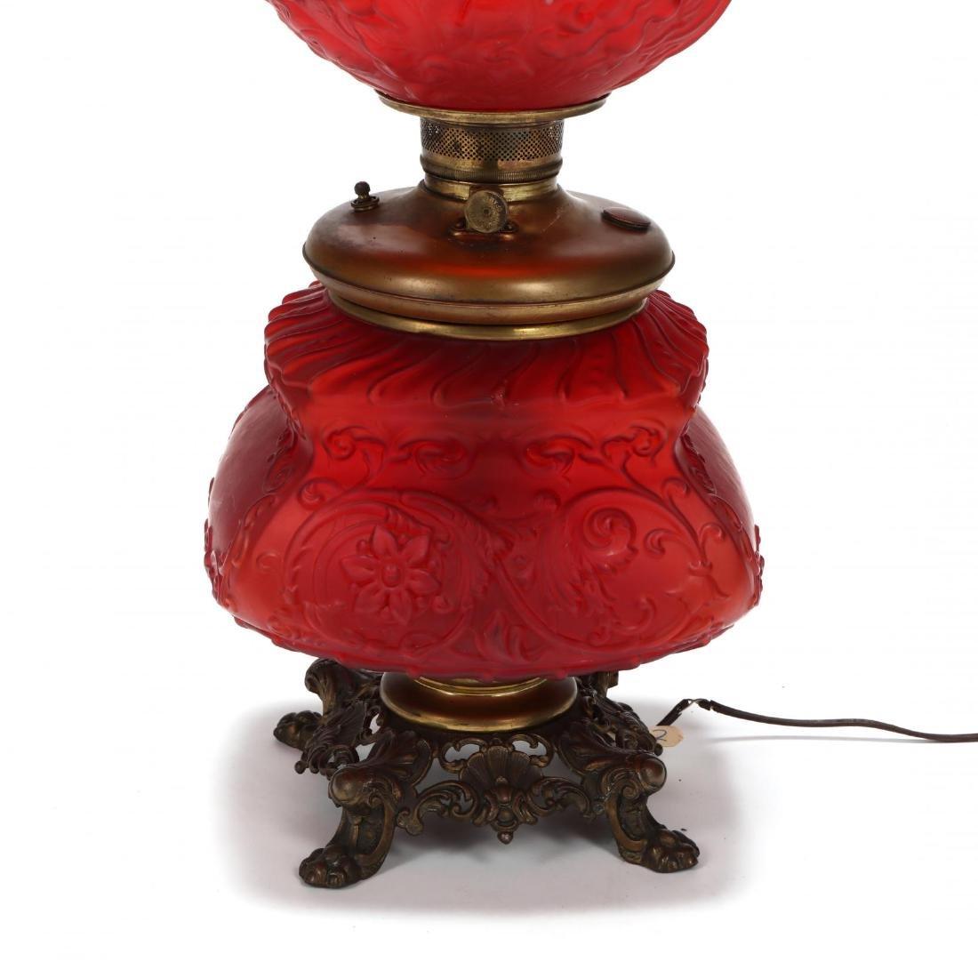 Antique American Oil Lamp - 3
