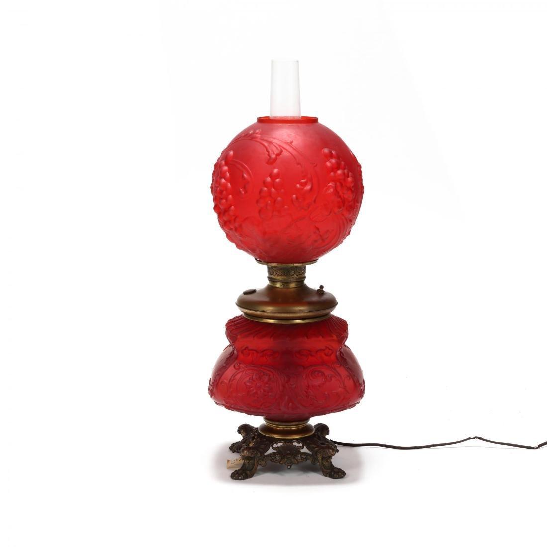 Antique American Oil Lamp - 5