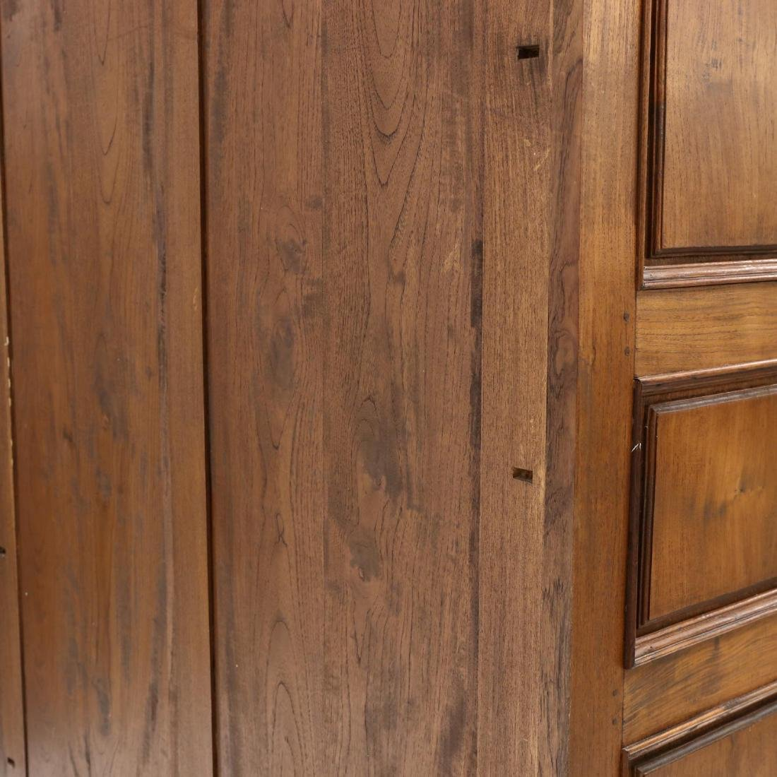 French Provincial Style Carved Mahogany Armoire - 8