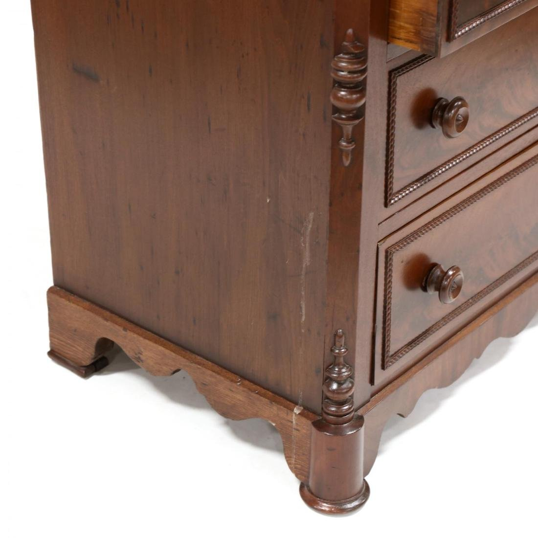 American Classical Mahogany Chest of Drawers - 4