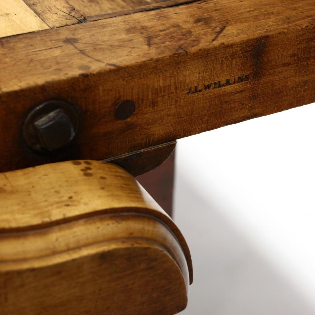 Antique Industrial Workbench / Desk - 4